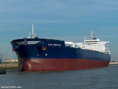The ELKA_ARISTOTLE / CREDIT © MarineTraffic.com