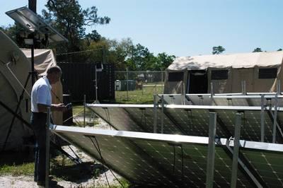 Energy consumption measurements: Photo courtesy of NSWC