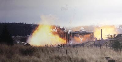 Dust Explosion (Photo: DNV GL)