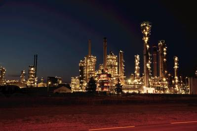 The EXXON refinery at the port of rotterdam (File Image / CREDIT EXXON)