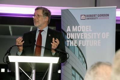 Prof. Ferdinand von Prondzynski, Principal of RGU