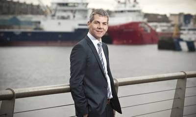 Fraser Moonie, chief operating officer of Bibby Offshore