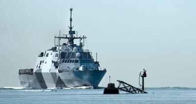 USS Freedom Entering Pearl Harbor