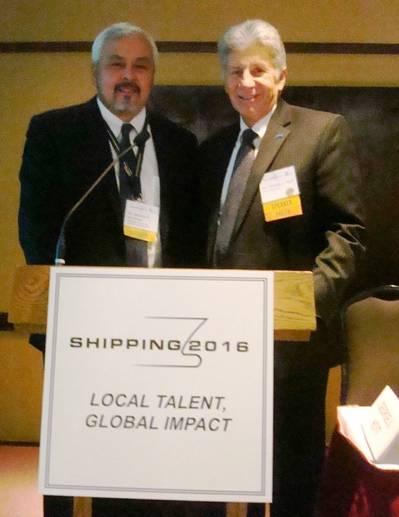 Gerardo Borromeo (L) and George Hoyt (R) (Photo: InterManager)