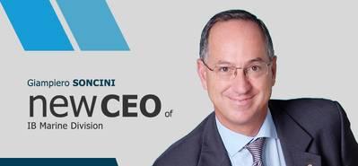 Giampiero Soncini, CEO, Marine Division, at IB Marine
