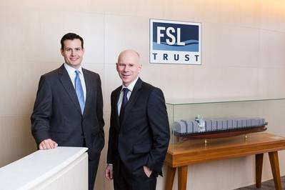 Alan Hatton and Roger Woods (Photo: FSL Trust)