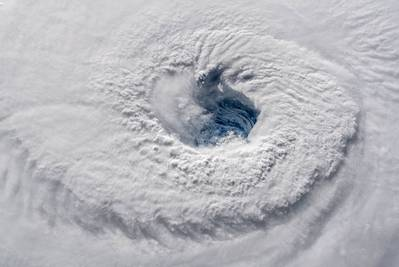 A high-definition video camera outside the International Space Station captured views of Hurricane Florence as a Category 4 storm of Tuesday (Image Credit: ESA/NASA–A. Gerst)