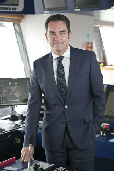 Howard Woodcock, chief executive at Bibby Offshore Photo Bibby PR