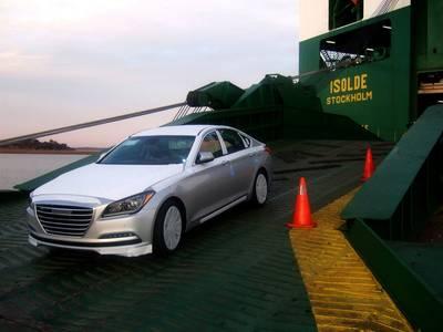 Hyundai Genesis  (Photo by International Auto Processing)