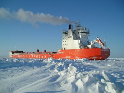 An Ice-class Nordic Yards-built Vessel: Photo credit Nordic Yards