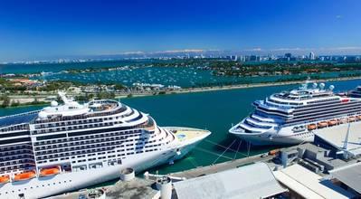 Illustration - Cruise ships in Miami - Credit: jovannig/AdobeStock