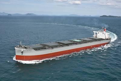 File Image: a K Line bulk coal carrier (CREDIT: K Line)