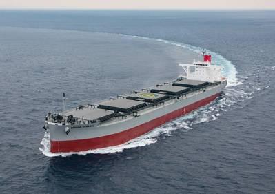 File Image: a K Line coal Carrier (CREDIT: K Line)