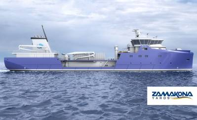 Well Boat: Image credit Zamakona Yards