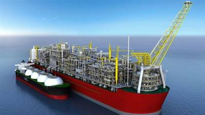 FLNG Unit Image by National Iranian Oil Company