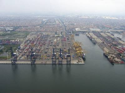 File Image: Tanjung Priok port (CREDIT: AdobeStock / Adita Petria Warman)