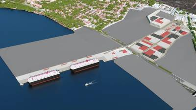 Image of Terminal at Completion by NYK Line