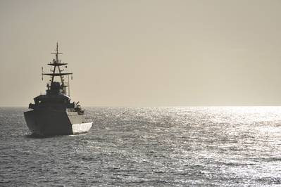 File Image: A UK Navy warship on patrol (CREDIT: AdobeStock / © Peter Cripps)