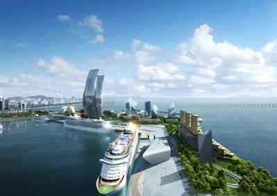 Port of Incheon. Image credit Incheon Port Authority
