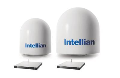 Intellian v60Ka and v100Ka combined set