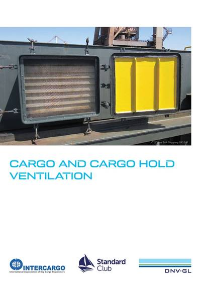 INTERCARGO, The Standard Club, and DNV GL, have launched a new ventilation guide. Image: DNV GL