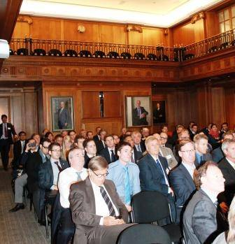 InterManager members meet in the Old Library, Lloyd's of London, for their annual general meeting and seminar.