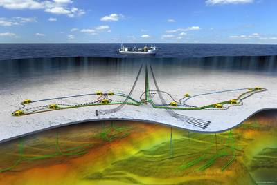 The Johan Castberg oilfield is expected to start producing in late 2022 (Image: Equinor)