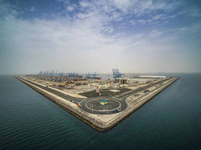 Khalifa Port's major development of Khalifa Port Logistics, South Quay, and Abu Dhabi Terminal is on pace for completion.