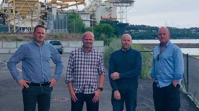From L to R: Kjetil Vatne, Tor Martin Buene, Sindre Tronstad and Trygve Altenborg.
