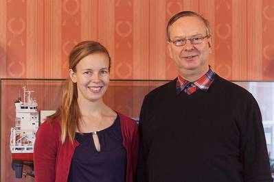 Laura Langh-Lagerlöf and Hans Langh (Photo: Langh Ship)
