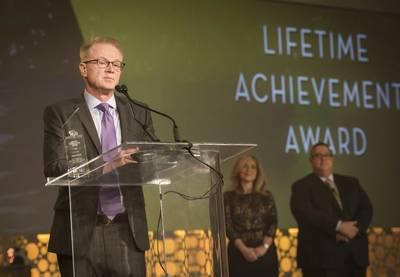 CLIA Lifetime Achievement Award Winner - David Crooks (Photo: CLIA)