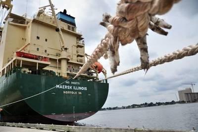 'Maersk Illinois' Photo credit Maersk