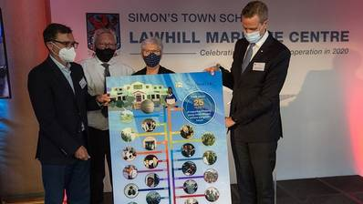 The maritime education baton held by Safmarine following its 25-year investment in the Lawhill Maritime Centre at Simon's Town School, will pass onto Maersk as of 2021. (Photo: Maersk)