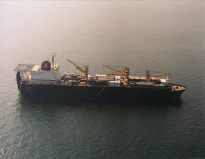 Military Sealift Command Maritime Prepositioning Force ship USNS SGT William R. Button