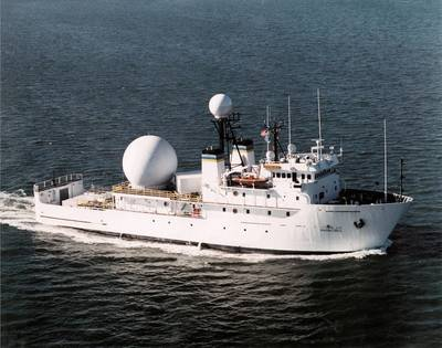 Military Sealift Command vessel USNS Invincible (Photo: Crowley)