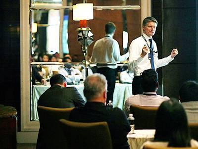 Møller Jensen presentation: Photo courtesy of INTERSCHALT