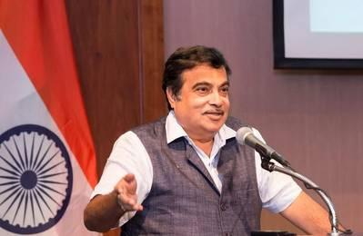 Nitin Gadkari. Photo: Official FB page of Nitin Gadkari