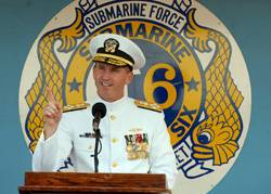 CNO nominee Adm. Jonathan Greenert, commander, U.S. Fleet Forces Command. (U.S. Navy photo by Mass Communications Specialist 2nd Class Kelvin Edwards/Released)