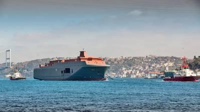 Norwegian Arctic Surveillance vessel: Photo courtesy of NMI