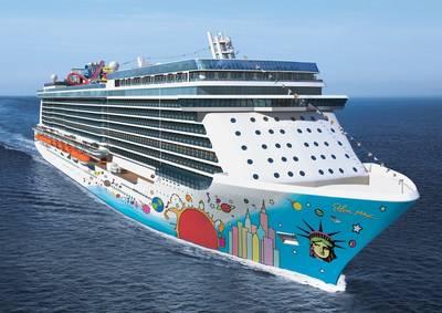 Norwegian Breakaway: Image courtesy of Norwegian Cruise Line