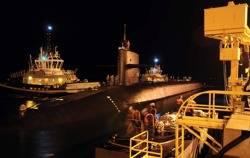 Nuclear Sub: Photo credit USN