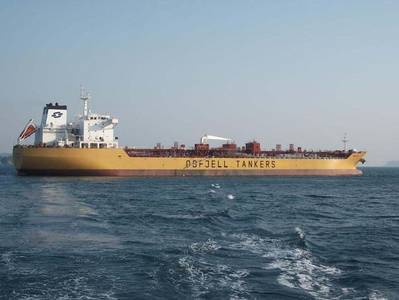 Odfjell's tanker vessel involved in the incident, M/T Bow Lind (Photo: Odfjell)