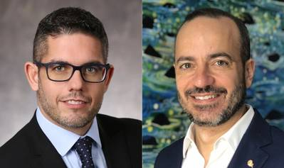 Neil Palomba (left) and Gus Antorcha (Photos: Carnival Corp)
