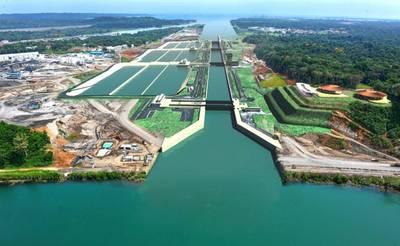 Pic:  Panama Canal