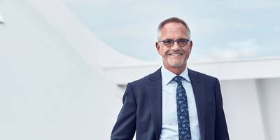 Peder Gellert Pedersen, Executive Vice President, DFDS Group, and Head of Ferry Division. Photo: DFDS