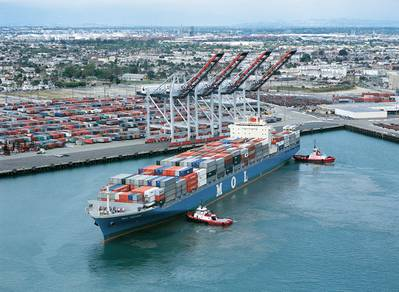 File photo: Port of Los Angeles