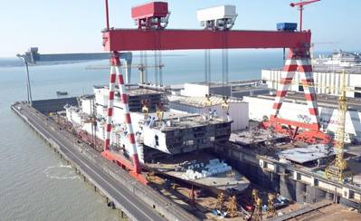 (File photo: Chantiers de l'Atlantique)
