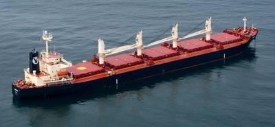 Photo courtesy of Eagle Bulk Shipping