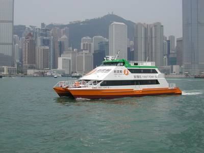 Photo courtesy of Fast Ferry Co. HK