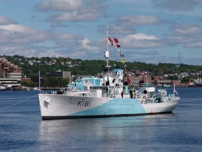 Photo credit HMCS Sackville Trust